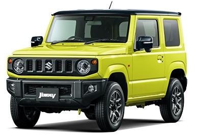 新型ジムニー黄色2