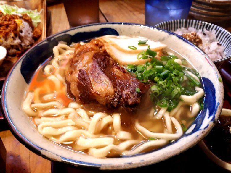 ニライナカイ ソーキ蕎麦