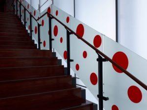松本市美術館 階段