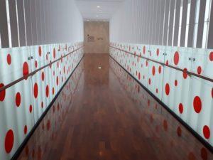 松本市美術館 廊下