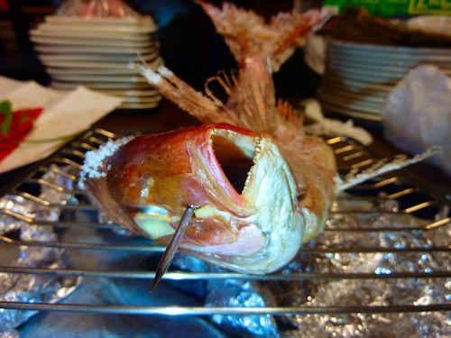 焼いた祝鯛