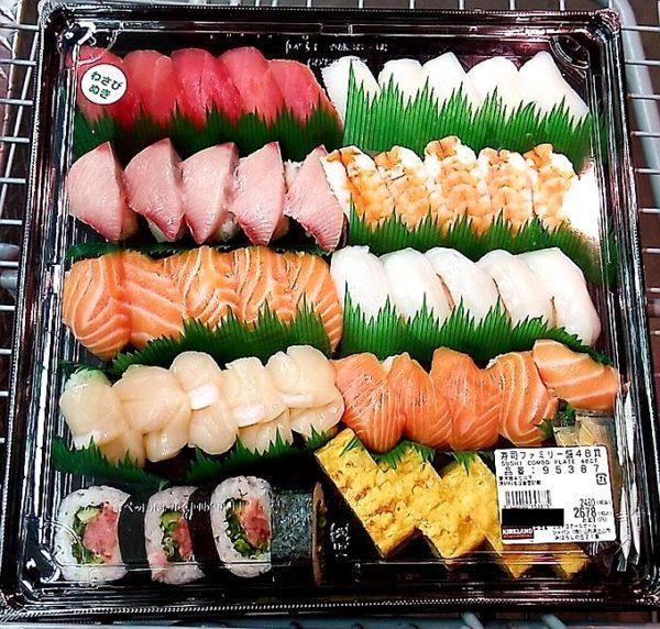 Costcoファミリー寿司