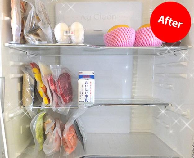 冷蔵庫スッキリ