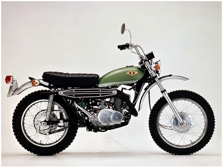 スズキハスラーオフロードバイクTS250